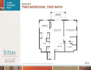 Villas floor plan