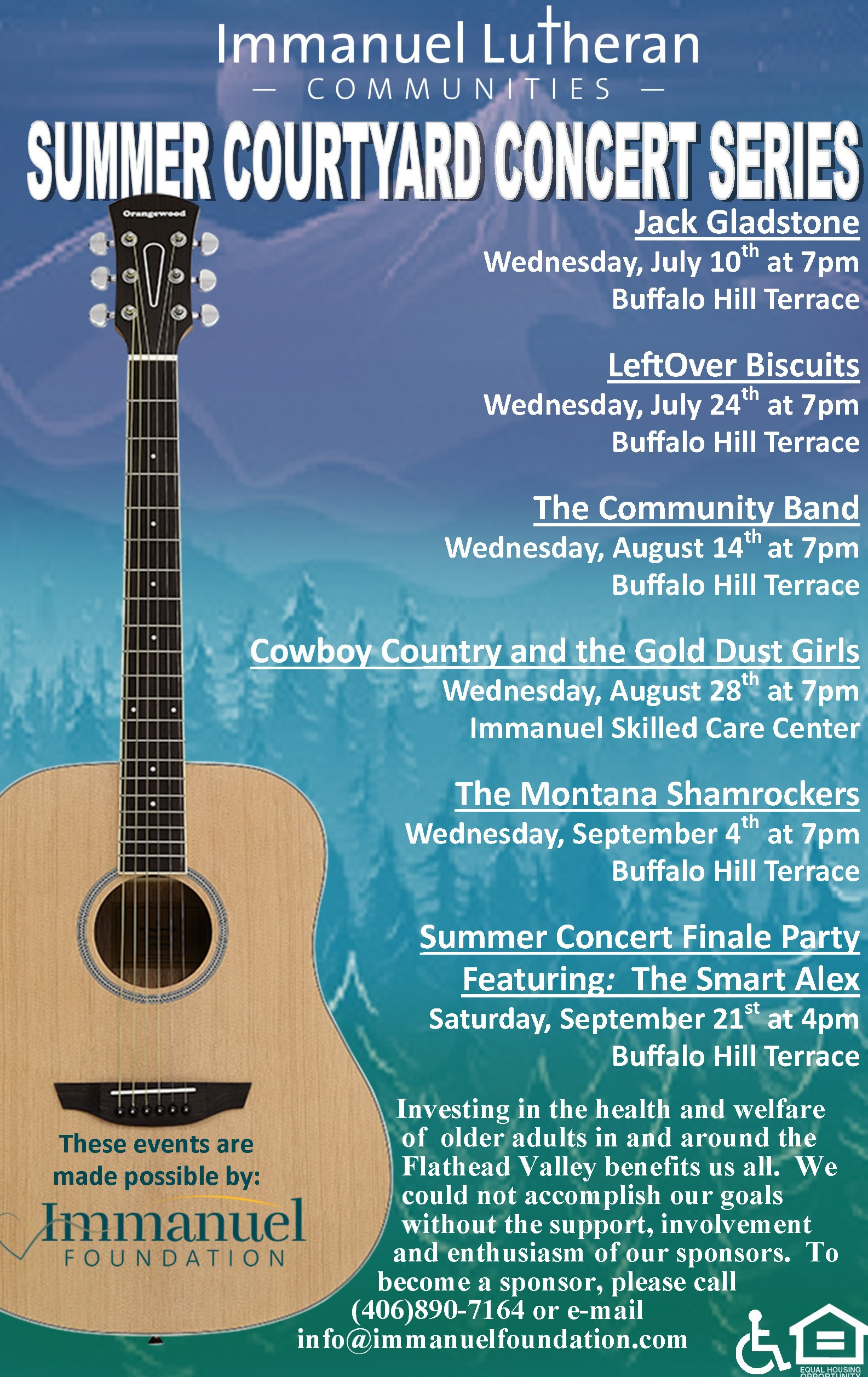 Summer Courtyard Concert Series Kickoff
