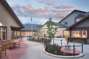 Lodge memory garden