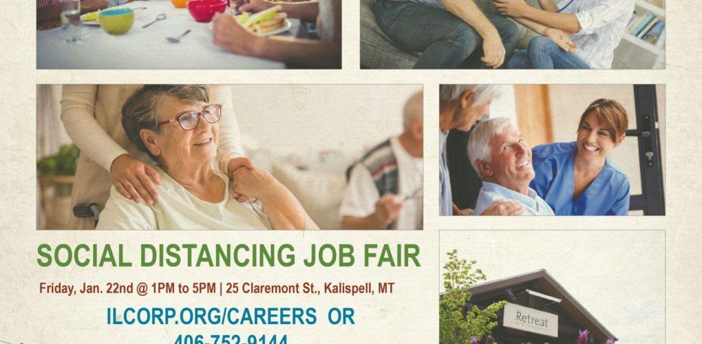 Social Distancing Job Fair Details