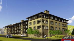The Villas expansion building rendering