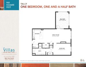 Villas floor plan