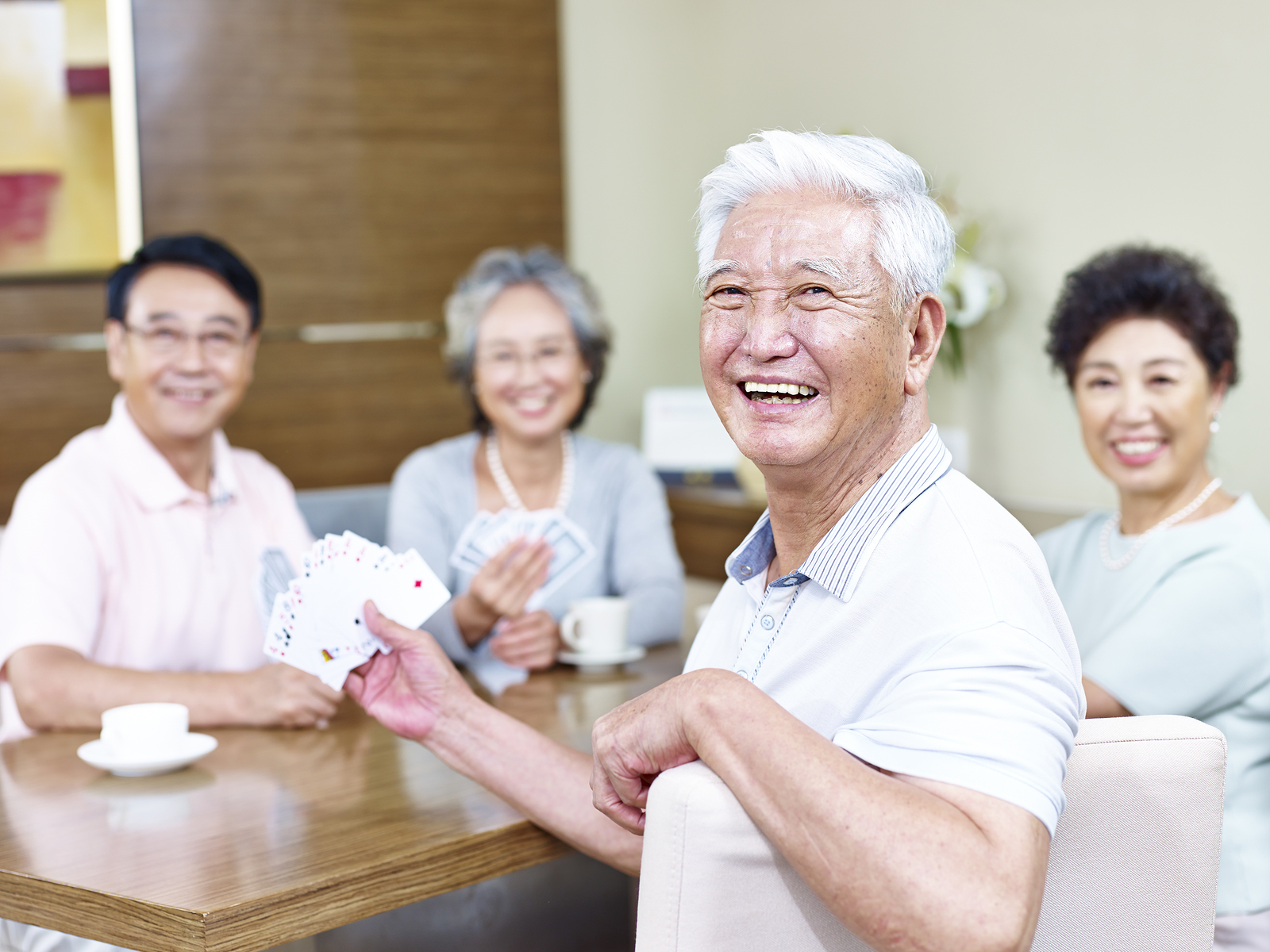Seniors happy with their choice of retirement communities for their future