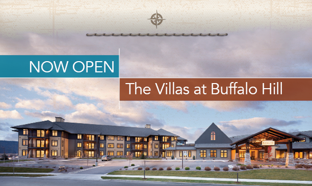 The Villas at Buffalo Hill Now Open
